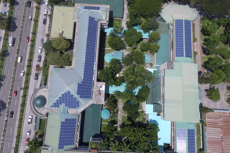 Solar PV rooftop project NDDU Philippines